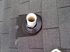 Canton's Best Gutter Cleaners' Certainteed Certified roofers can replace your cracked and rotted vent boots.