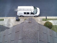 Canton's Best Gutter Cleaners' Certainteed Certified roofers can replace cracked ridgecaps.